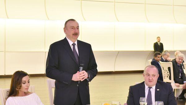 Устроен прием в честь участников V Глобального Бакинского форума - Sputnik Азербайджан