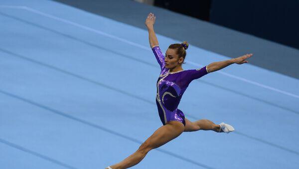 Финал Кубка мира по спортивной гимнастике в Баку - Sputnik Азербайджан