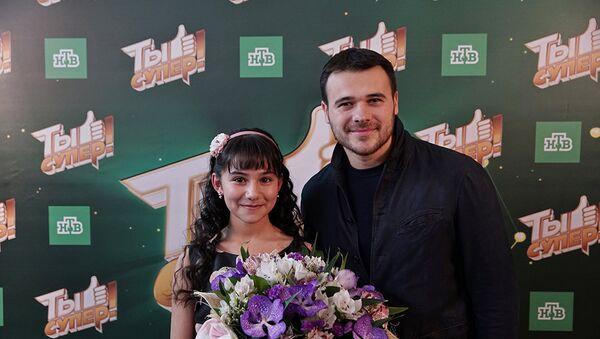 Эмин и Хошгадам Мехтиева - Sputnik Азербайджан