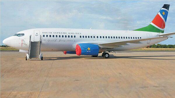 Самолет авиакомпании South Supreme Airlines - Sputnik Азербайджан