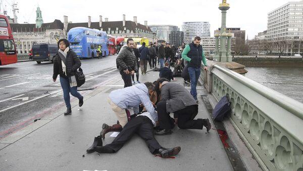 Londonda terror aktı - Sputnik Azərbaycan