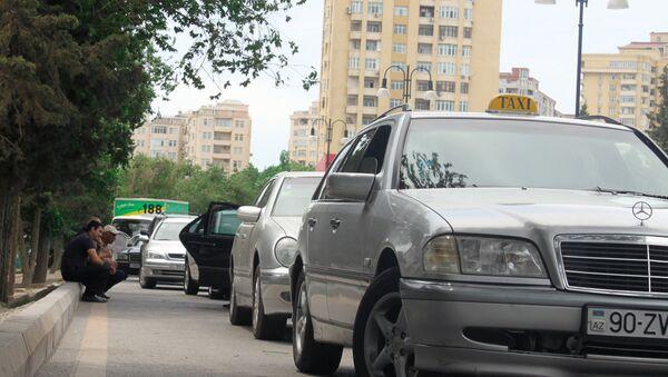 Такси в Баку, фото из архива - Sputnik Азербайджан