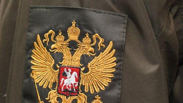 Образец шеврона военнослужащего Национальной Гвардии - Sputnik Азербайджан