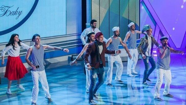 Выступление Сборной Баку в полуфинале КВН, фото из архива - Sputnik Азербайджан