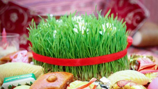 Традиционная праздничная сервировка на Новруз байрамы - Sputnik Азербайджан
