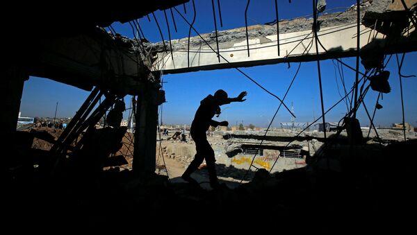Военные операции в Сирии, фото из архива - Sputnik Азербайджан