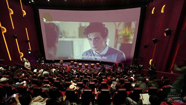 Азербайджанский фильм Два чужих человека был представлен в Пекине на международном фестивале Grand Asian Film - Sputnik Азербайджан