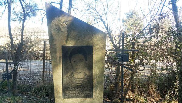 Памятник на могиле Александра Анатольевича Михайлюка - Sputnik Азербайджан