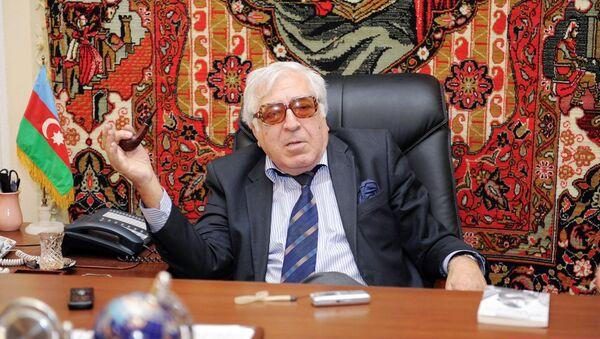 Народный писатель Азербайджана Анар - Sputnik Азербайджан