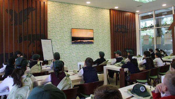 Презентация проекта Эко-скаут - Sputnik Азербайджан