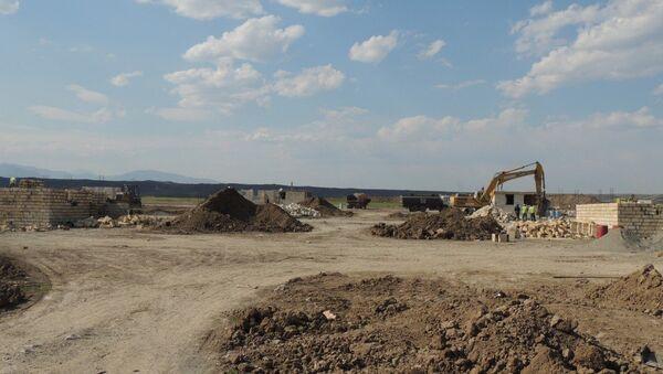 В Джоджуг Марджанлы завершились работы по кладке стен 21 дома - Sputnik Азербайджан