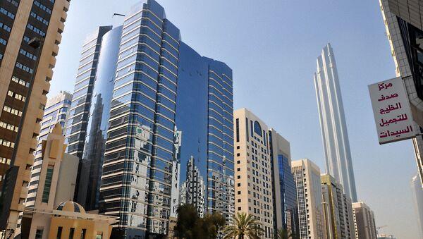 Улица Халифа в Абу-Даби, фото из архива - Sputnik Азербайджан