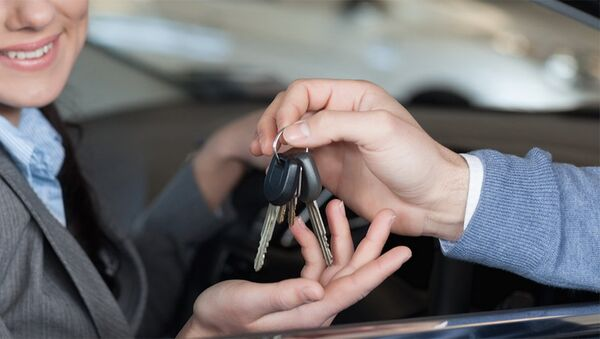Автомобильные ключи, фото из архива - Sputnik Азербайджан