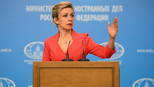 Официальный представитель МИД РФ Мария Захарова - Sputnik Азербайджан