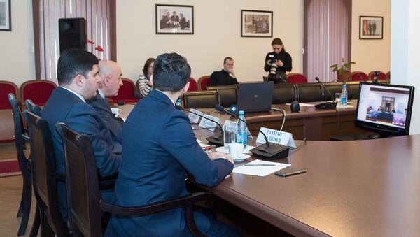 Казахстанско-азербайджанский экспертный форум Казахстанско-азербайджанские взаимоотношения в контексте региональных процессов - Sputnik Азербайджан