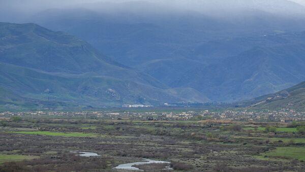 Вид на село Мадагис - Sputnik Азербайджан