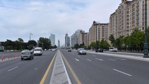 Проспект Гейдара Алиева в Баку, фото из архива - Sputnik Азербайджан