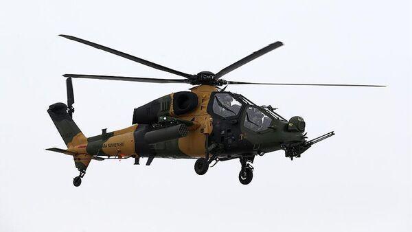 Вертолет ВВС Турции, фото из архива - Sputnik Азербайджан