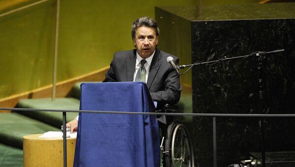Ленин Вольтер Морено Гарсес, 27 сентября 2010 года - Sputnik Азербайджан