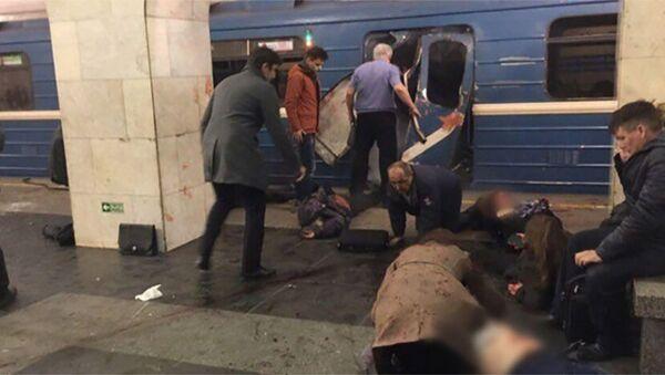 Взрыв в метро Санкт-Петербурга - Sputnik Азербайджан
