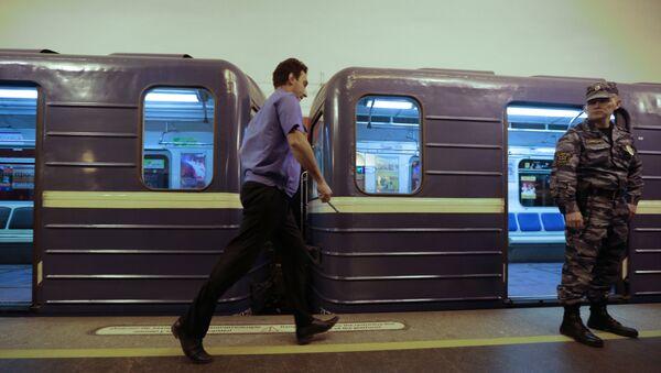 Возгорание в петербургском метро, фото из архива - Sputnik Азербайджан