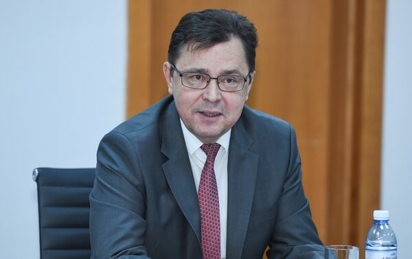 Советник-посланник посольства России в Азербайджане Олег Мурашев - Sputnik Азербайджан