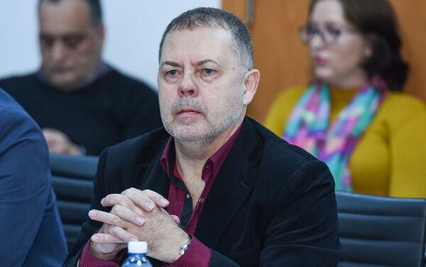 Председатель Экспертного совета Фонда поддержки научных исследований Мастерская евразийских идей Григорий Трофимчук - Sputnik Азербайджан