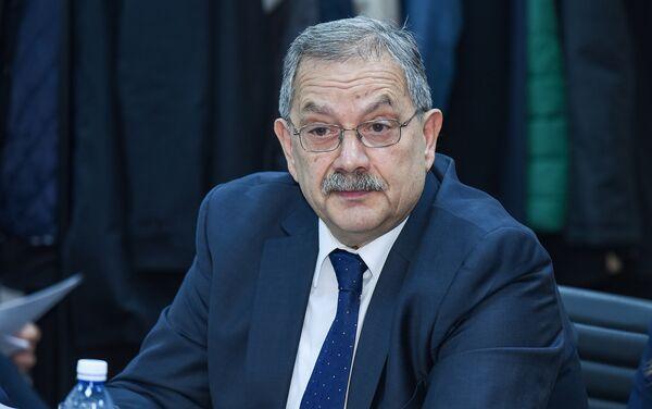 Руководитель Экспертного совета Baku Network Эльхан Алескеров - Sputnik Азербайджан