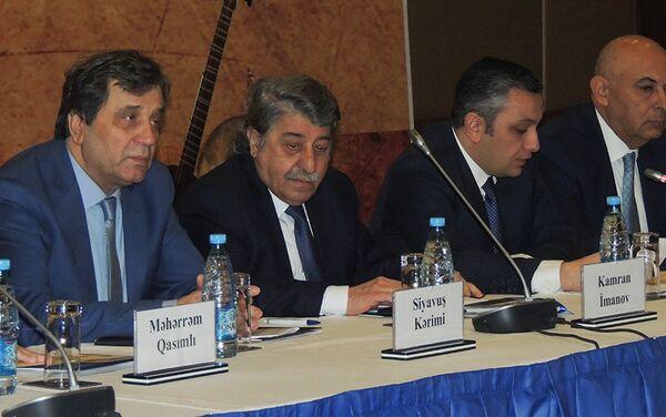 Конференция на тему Азербайджанские национальные музыкальные инструменты: прошлое и настоящее - Sputnik Азербайджан