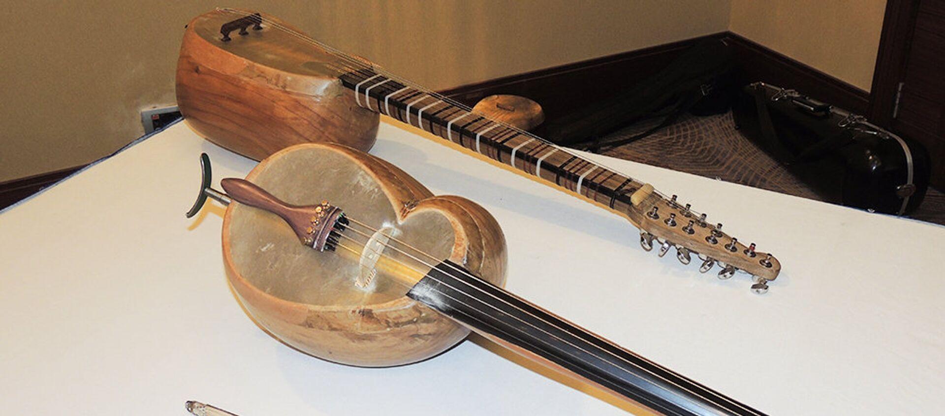 Конференция на тему Азербайджанские национальные музыкальные инструменты: прошлое и настоящее - Sputnik Азербайджан, 1920, 18.02.2021