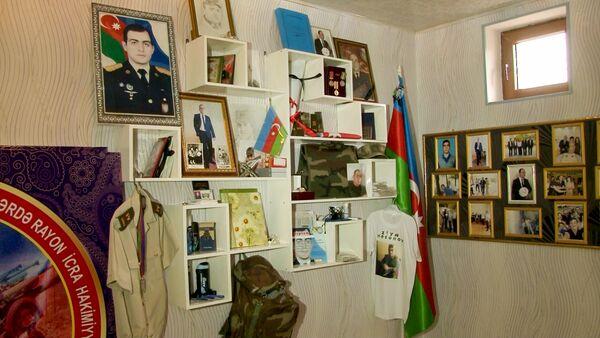 Комната шехида Зии Гасанова - Sputnik Азербайджан