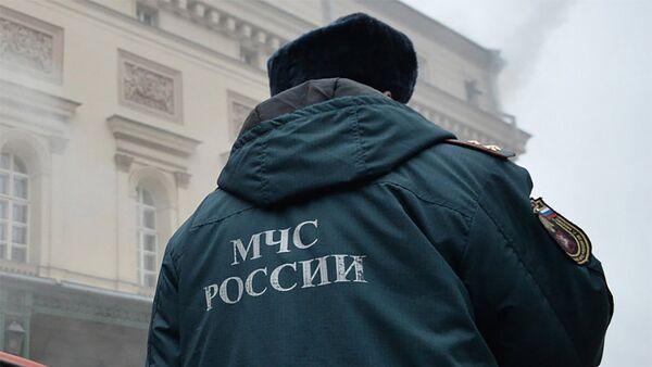 Сотрудник МЧС России, фото из архива - Sputnik Азербайджан