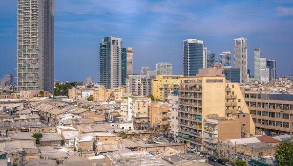 Вид на город Тель-Авив - Sputnik Азербайджан