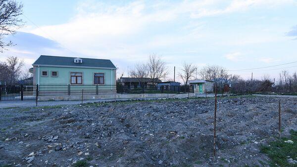 Вид на село Гапанлы Тертерского района, фото из архива - Sputnik Азербайджан
