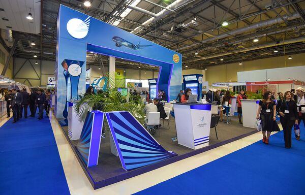 16-я Азербайджанская Международная Выставка Туризм и Путешествия - Sputnik Азербайджан