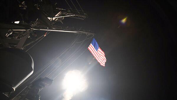 Удар США по базе в Сирии - Sputnik Азербайджан
