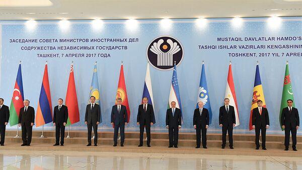 В Ташкенте состоялось заседание Совета министров иностранных дел Содружества Независимых Государств - Sputnik Азербайджан