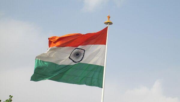 Флаг Индии, фото из архива - Sputnik Азербайджан