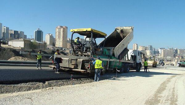 Sovetski ərazisində yol infrastrukturunun yenidən qurulması yekunlaşır - Sputnik Азербайджан