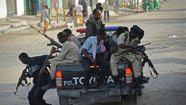 Полиция Сомали, фото из архива - Sputnik Азербайджан