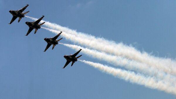 ABŞ F-16 qırıcıları - Sputnik Azərbaycan