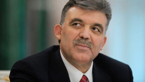 Бывший президент Турции Абдулла Гюль - Sputnik Азербайджан
