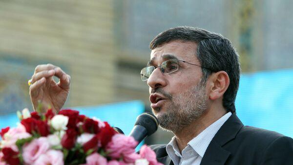 Бывший президент Ирана Махмуд Ахмадинежад, фото из архива - Sputnik Azərbaycan