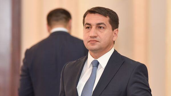 Хикмет Гаджиев, глава пресс-службы МИД Азербайджана - Sputnik Азербайджан