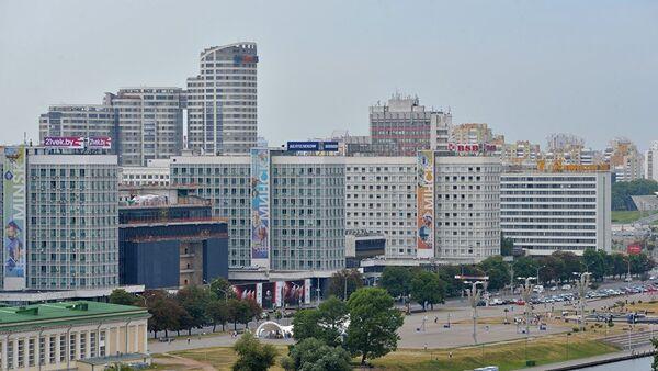 Вид на город Минск - Sputnik Азербайджан