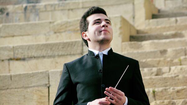 Cтудент Венской консерватории Мустафа Мехмандаров - Sputnik Азербайджан