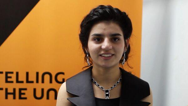 Парвана: мне жаль покидать проект Ты супер!, привыкла к ребятам - Sputnik Азербайджан