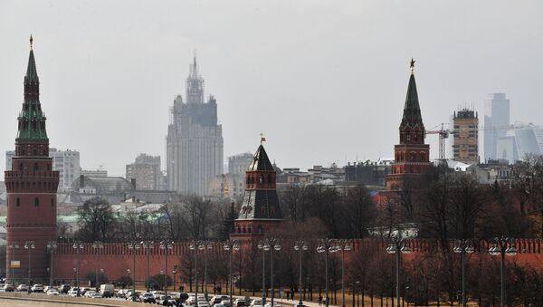 Московский Кремль и Кремлевская набережная - Sputnik Азербайджан