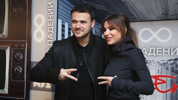 Эмин Агаларов и Ани Лорак, фото из архива - Sputnik Азербайджан