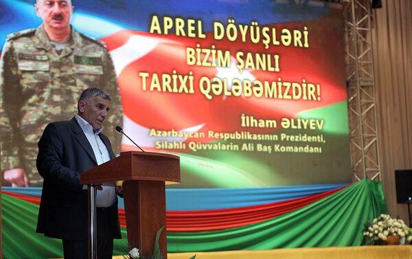 Отец Национального героя Азербайджана Тельман Мирзоев - Sputnik Азербайджан